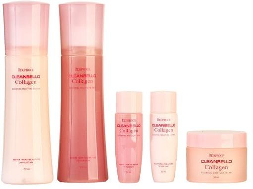 Deoproce Cleanbello Collagen Essential Moisture Skin Care фото